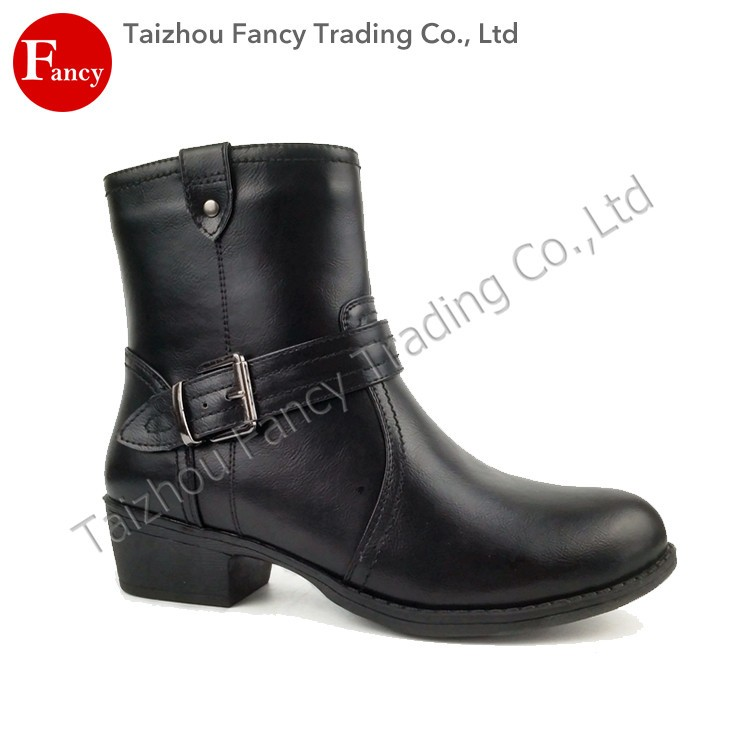 Custom High Quality Ankle Motorcycle Boots China