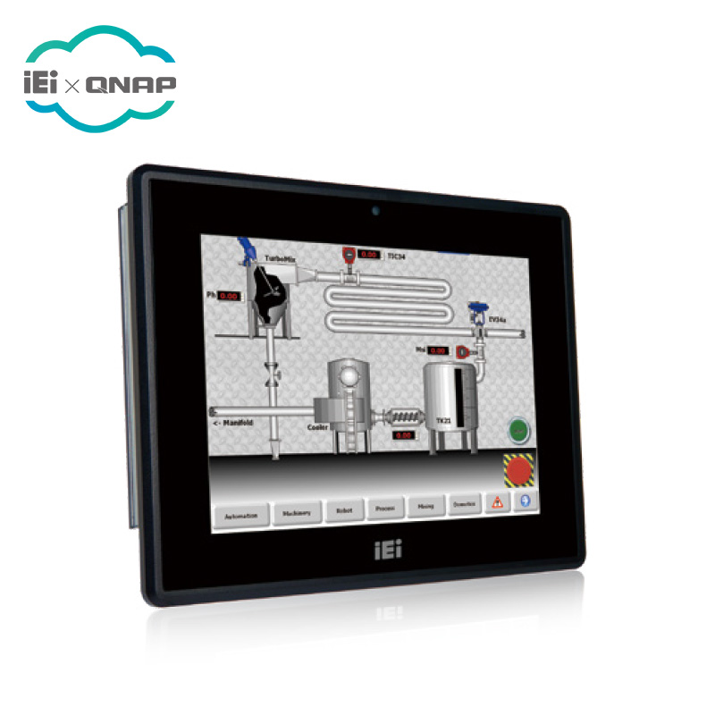 IEI PPC-F06B-BT 5.7 inch Industrial Panel PC with Intel Celeron N2807, 2GB, Resistive Touch Screen
