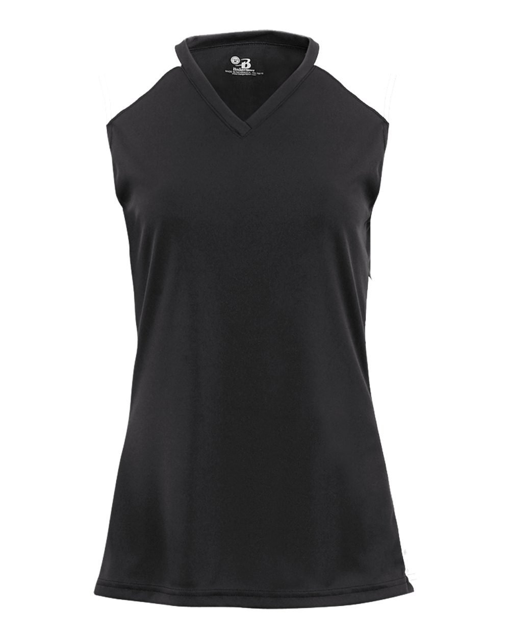 Sleeveless Ladies & Girls V-Neck 2-Color Moisture Sleeveless V-Neck 2-Color Wicking Jersey Top (Available in 13 Colors for All Sports, Athletics & Casual Wear)
