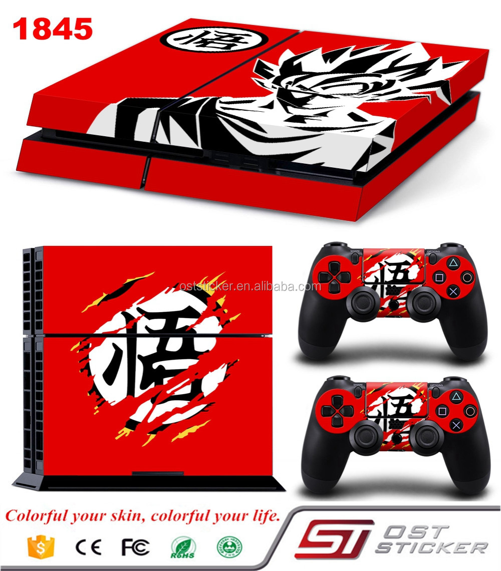 New Dragon Ball Decal For Sony Playstation 4 Console Controller Stickers
