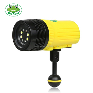 MK-19 Seafrgos 2500LM U2 LED waterproof Diving Flashlight Torch under water 100m led diving light Up to 100M