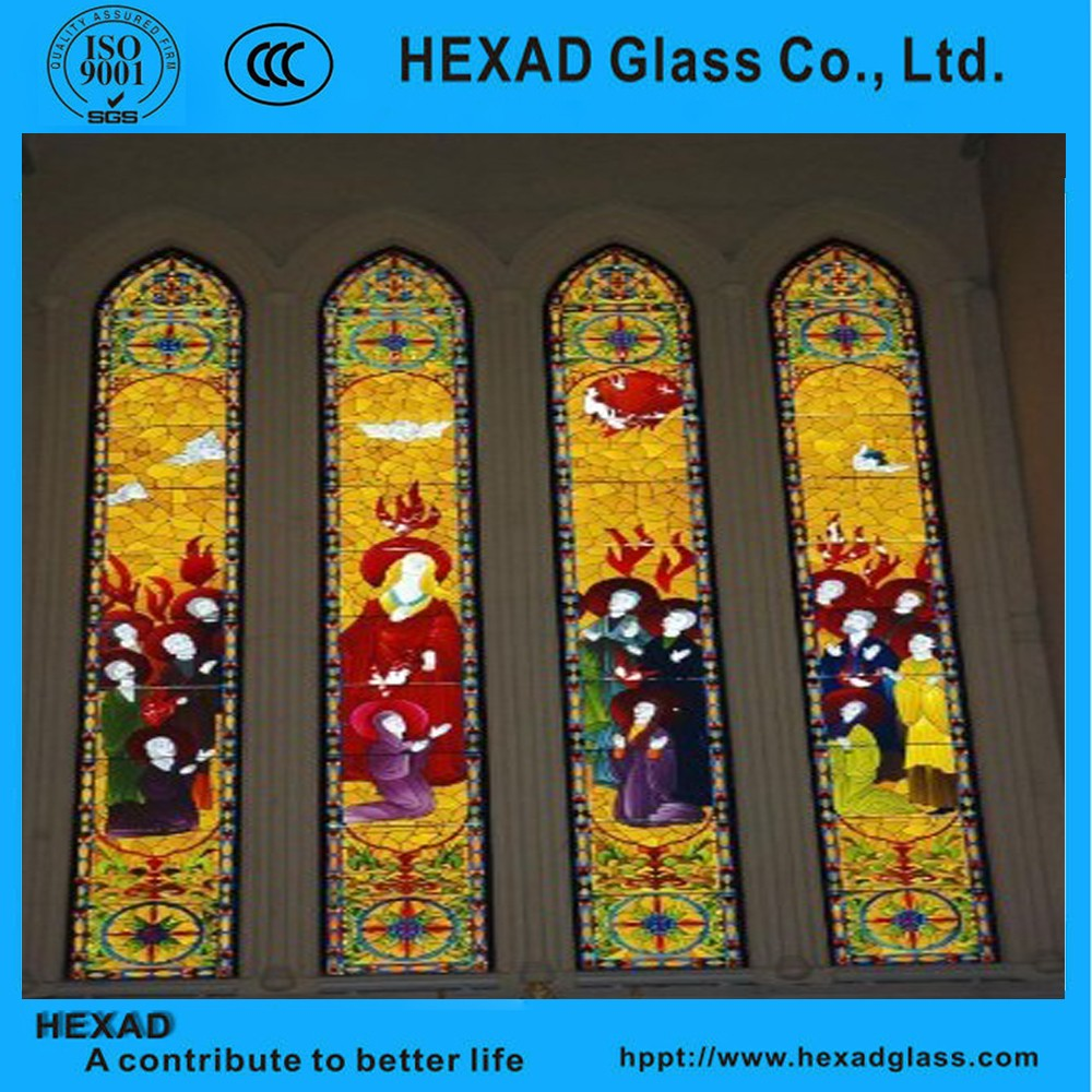 Chinese Factory Stained Glass Windows For Home Decoration
