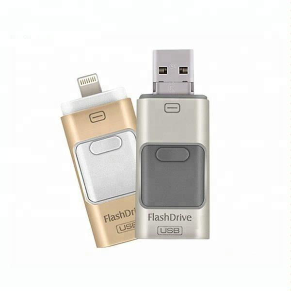 Wholesale promotion gift OTG 3 in 1 USB 2.0 USB 3.0 usb Flash Drive 64GB - USBSKY | USBSKY.NET