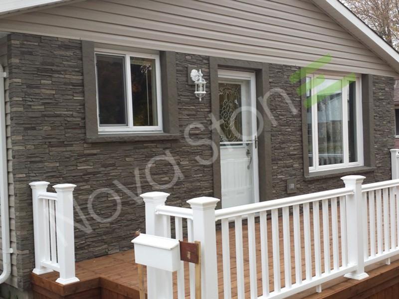 Stone Foam Panels : Pu foam panel exterior decorative siding faux brick stone