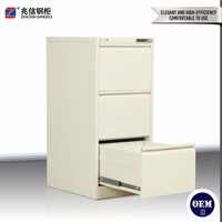 Metal display stand steel office design furniture key lock hang files 3 drawer filing cabinet