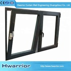 Modern House Tempered Frame Double Glazing Glass Window