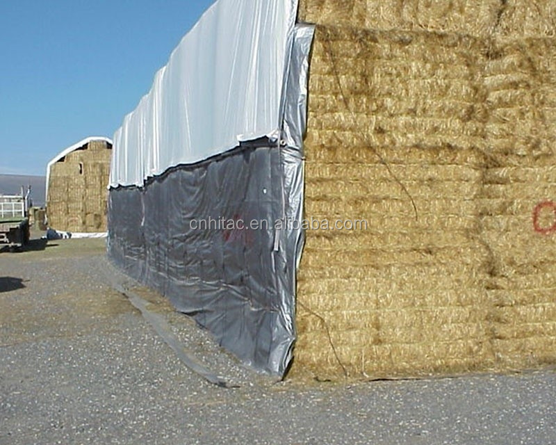 8oz Heavy Duty Hay Bale Cover Hay Tarp To Cover The