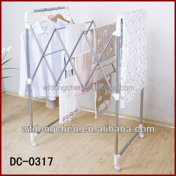 Energy Saving portable rotating quilt drying rack from China suppliers