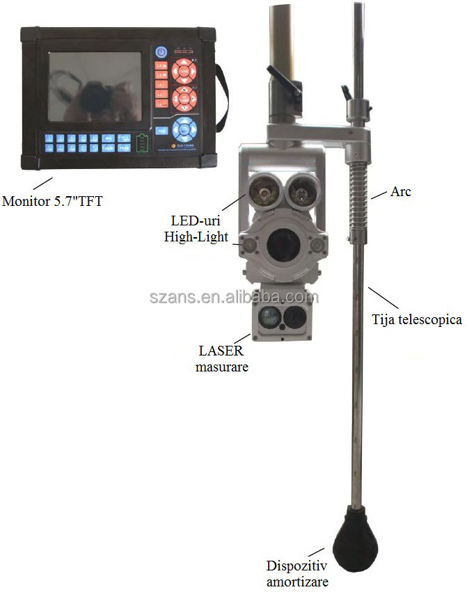 Factory Telescopic Pole Camera For Manhole Sewage