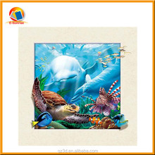 natural Lively Sea World PET 3D and 5d sea Fish Pictures