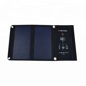 folding cellphones usb portable solar panel mobile phone waterproof solar charger