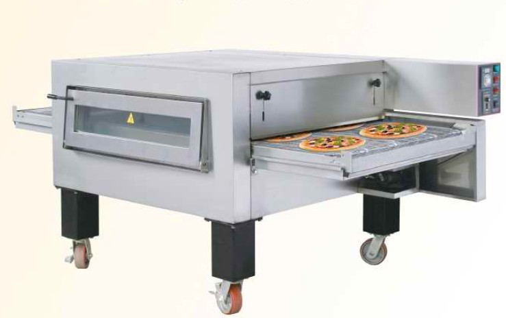 electric conveyor pizza oven automatic pizza making. Black Bedroom Furniture Sets. Home Design Ideas