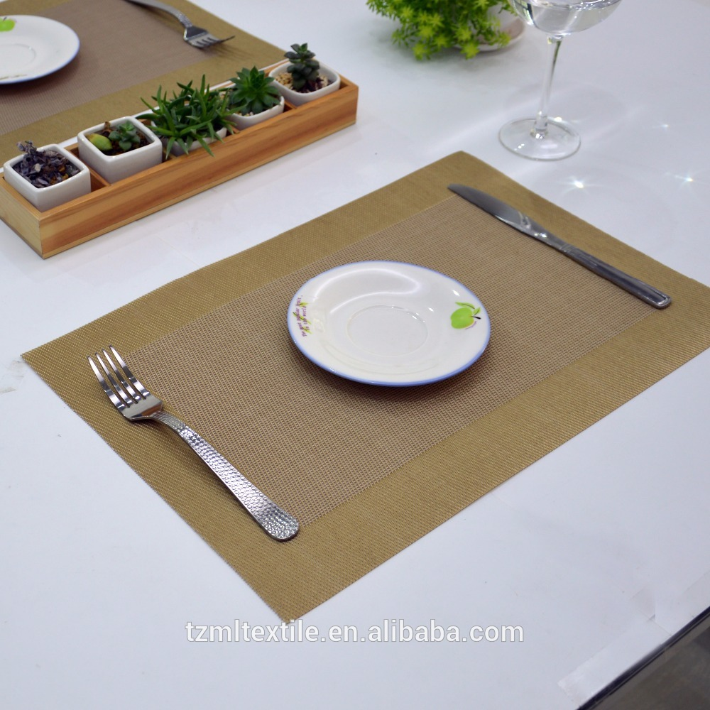 Luxury Heat-insulated Table Mat ,PVC Foam Pad Placemat, Kitchen Dining Table Bowl Dish Placemat