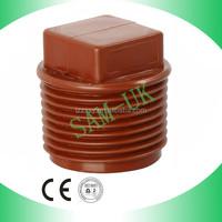 pvc pipe fittings plug for plumbing sanitary fittings price