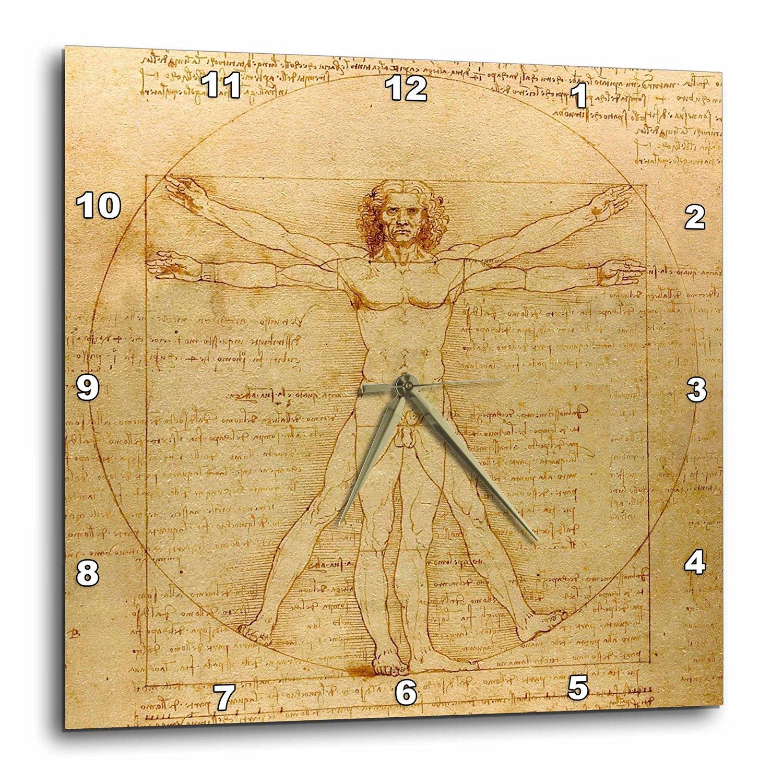 Buy 3dRose lsp_155633_2 Vitruvian Man by Leonardo Da Vinci 1490 Fine ...