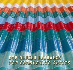 Grp - Frp (glass Fiber Reinforced Polyester) Roof Sheets