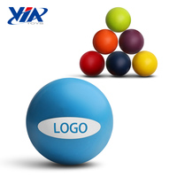 VIA 46mm colorful rubber custom bouncy ball