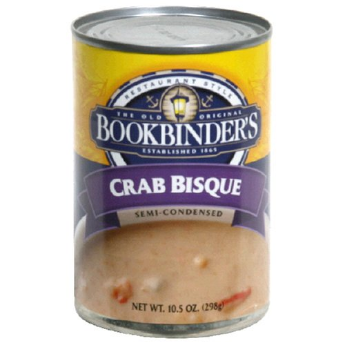 Bookbinders Crab Bisque, 10.5-Ounce Cans (Pack of 12)