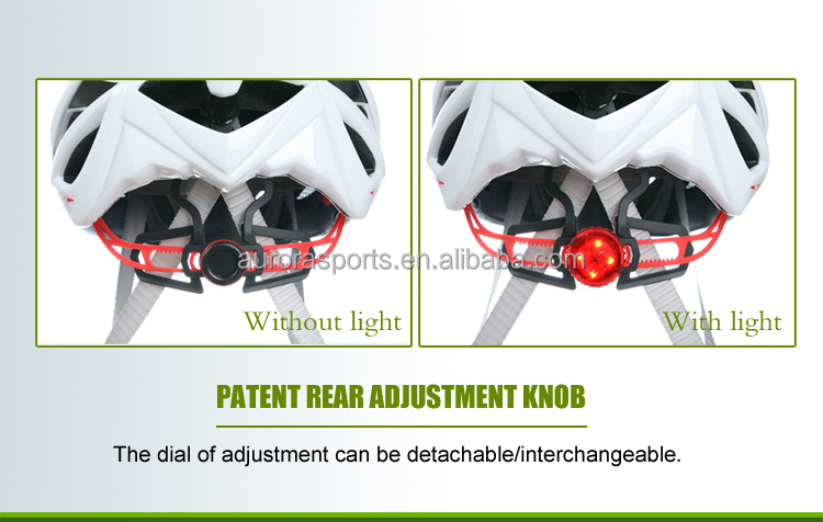 Patent Bicycle Helmet Head Lock System