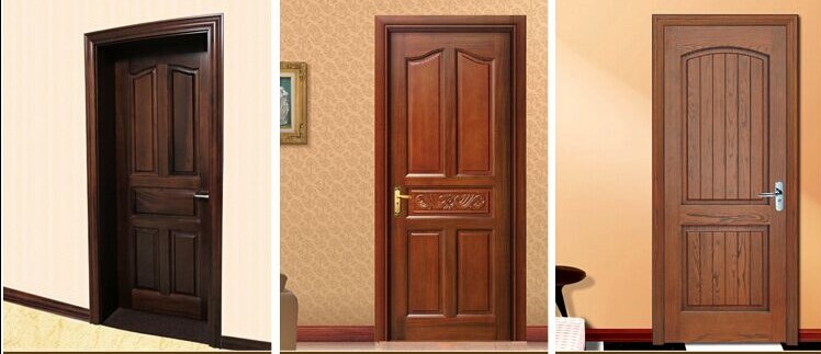 Hot Selling Modern House Door Interior Bedroom Door Or