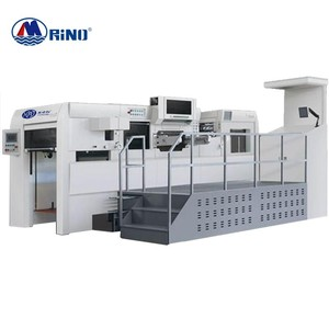 Rino Fast Speed Lead Edge Feeding Auto die cutter die-cutting creasing machine