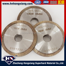 Arc shape diamond grinding wheel / glass edging wheel / diamond flat grinding wheel