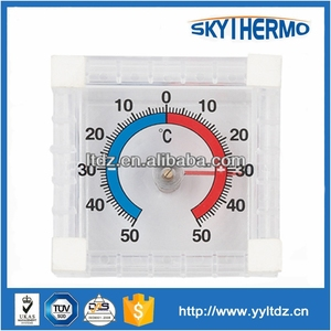 temperature testing indoor plastic window baby room thermometer