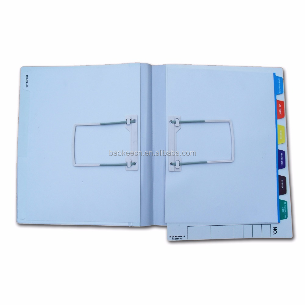 Durable using low price clear plastic file folders