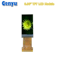 Genyu 0.96 Inch IPS Panel Color LCD TFT Display 80*160 tft lcd module