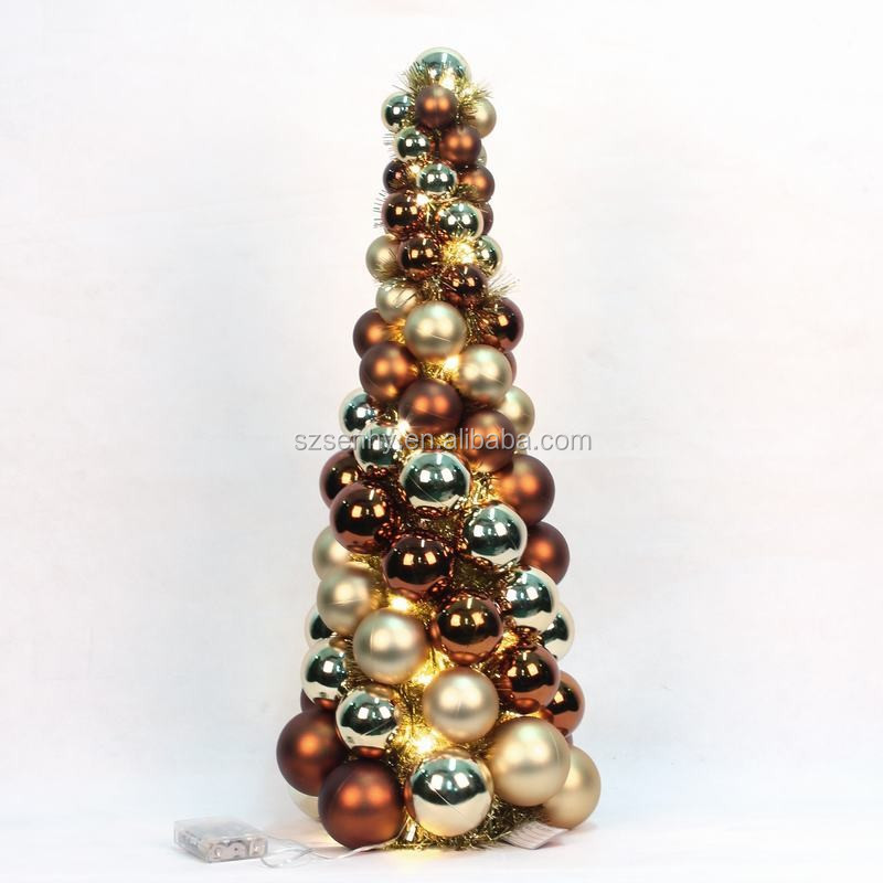 2016 de alta calidad de la bola del rbol de navidad for Adornos para arbol de navidad 2016