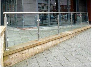 Stainless Steel Frameless Glass Railing/patio Railings