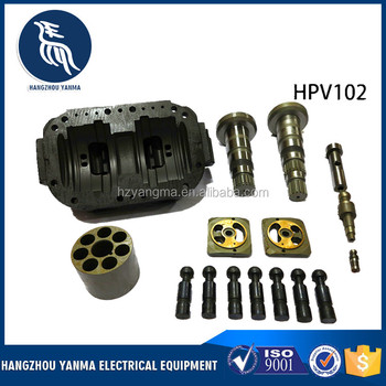 Hpv102 Excavator Hydraulic Pump Parts Cylinder Block Piston Valve Plate For  Ex200-5 Ex220-5 - Buy Hpv102 Repair Parts,Ex200-5 Valve Plate,Valve Plate