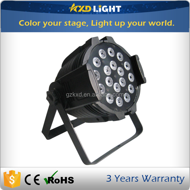 Dj Par Light Flat Par Can Slim Par 64 for Disco & KTV Light&DJ Party Stage Lighting