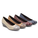 hot sale italian luxurious latest new design high grade thin low heel woman dress branded leather shoes