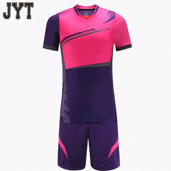 Bulk cheap soccer jerseys sport new pattern custom printed fabric football  uniform for referee ee16638f2