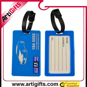 dependable performance cheap custom soft pvc luggage tag lugg tag