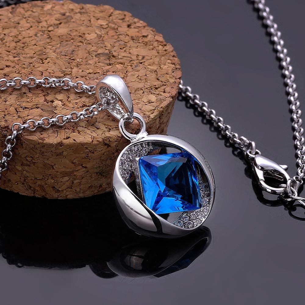 Blue stone pendant necklace images blue stone pendant necklace images gold blue stone necklace images jpg aloadofball Image collections