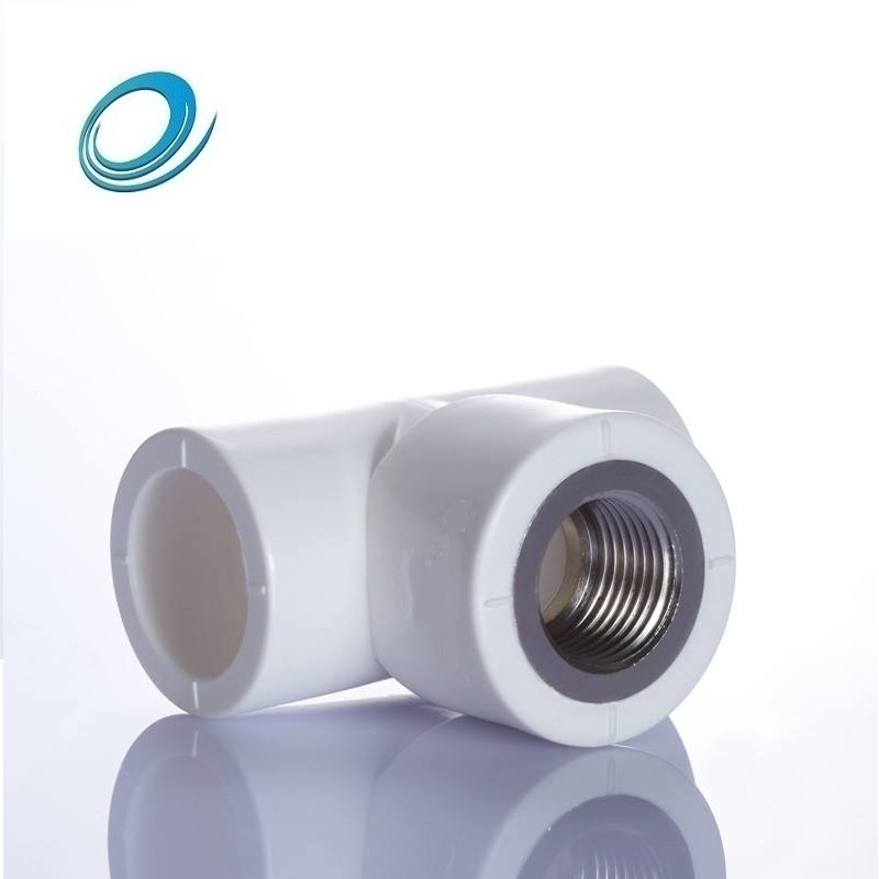 Standard sizes ppr pipe fittings female threaded tee