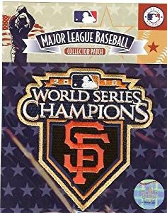 d19c238d874 Get Quotations · 2010 San Francisco Giants MLB World Series Champions Ring  Ceremony Jersey Patch (Gold Border)