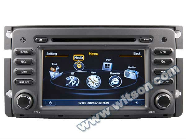 WITSON Smart ForTwo dvd navigation with A8 Chipset Dual Chipset 3G modem wifi DVR Option---Russia Menu!!!