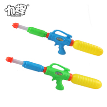 Cheap and fun summer season toy revolver water gun with tank