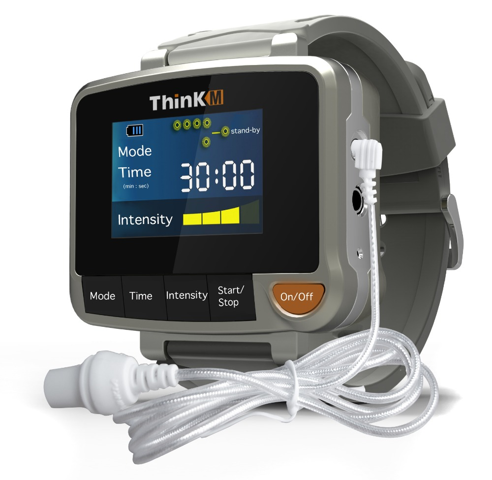 ThinkM factory offer wrist watch cold laser therapy to treat hypertension, hyperviscosity, hyperlipaemia