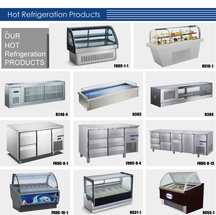 Professional Commercial Supermarket Refrigerator & Freezer/Customized Cold Room Hotel Restaurant Kitchen Refrigeration Equipment
