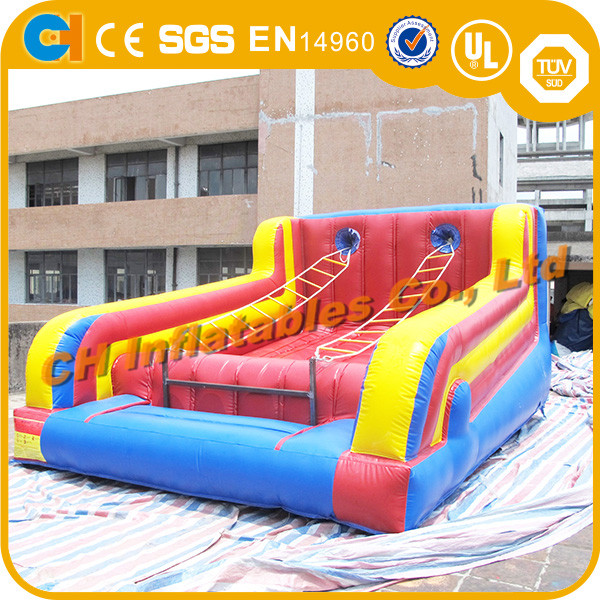 HOT sale Jacob's Ladder Inflatable Ladder Climbing Games