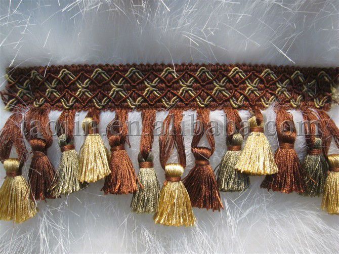 Tassel And Trim For Curtain Tapestry And Sofa Cushion Fringe ...