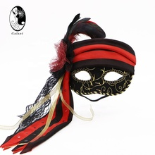 Forum Novelties Unisex-adults Mask-pirate Fabric Wench,Multi,Standard-Mardi Gras Carnival Party Mask Halloween Costumes