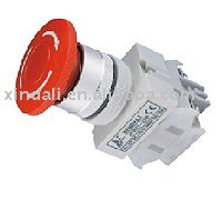high quality emergency stop push on off button swtich IP55 XPB22-22B-11ZS