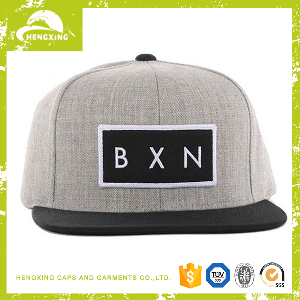 Hengxing Caps low price high profile plain snapback hat