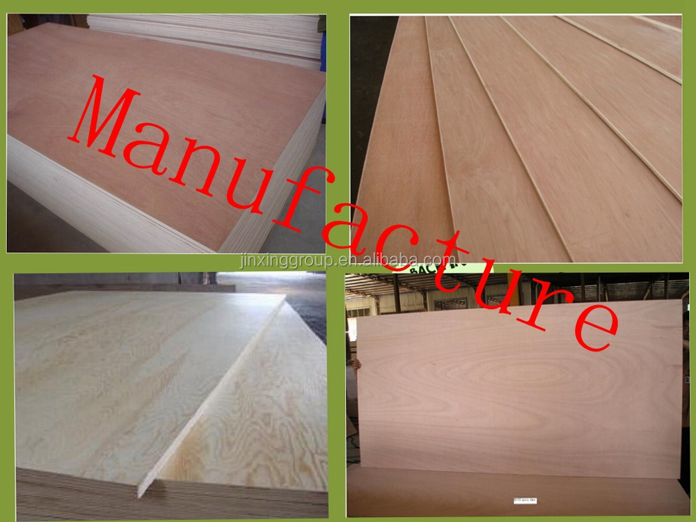 Linyi Different Kinds Artificial Wood Veneer Plywood with Low Price