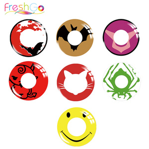 Halloween cosplay crazy contact lenses smiley fancy contact lenses costume crazy lens
